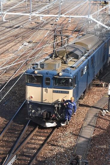 2021年2月21日撮影 南松本にて 西線貨物8084レ機回し