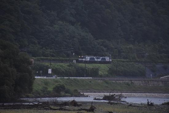 2020年9月26日撮影 篠ノ井線8467レ 熊倉の渡しから