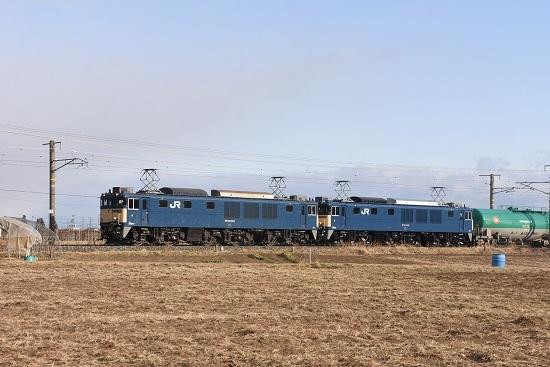 2021年2月27日撮影 西線貨物60883レ EF64-1043+1035号機 その1