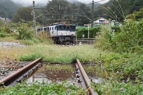 2020年9月26日撮影 篠ノ井線8467レ 冠着駅裏から