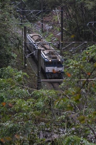 2020年9月26日撮影 篠ノ井線8467レ 冠着トンネル上から