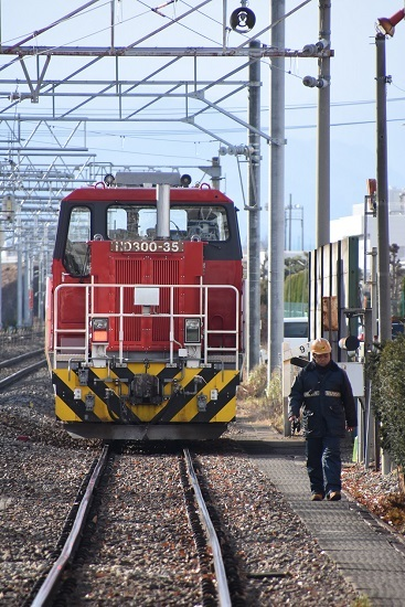 2020年12月13日撮影 南松本にて HD300-35号機が寝倉へ