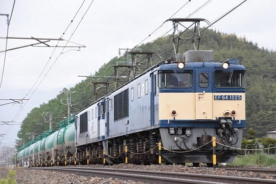 2021年5月5日撮影 西線貨物8084レ EF64-1025+1018号機