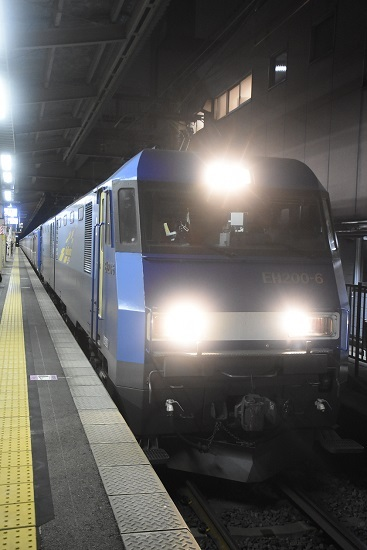 2021年3月1日撮影 相鉄10000系甲種を牽くEH200-6号機