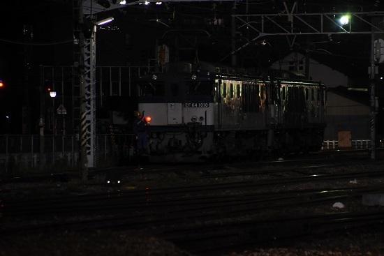 2020年10月3日撮影 南松本にて西線貨物6089レ 機回し