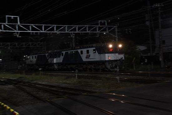 2020年10月3日撮影 南松本にて西線貨物6089レ 機回し後撃ち