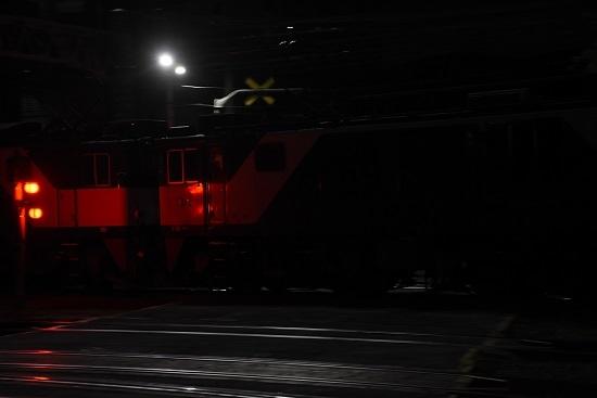 2020年10月3日撮影 南松本にて西線貨物6089レ 機回し 流し撮り 2