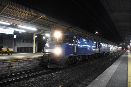 2021年3月1日撮影 東線貨物89レ EH200-4号機の単機を流して