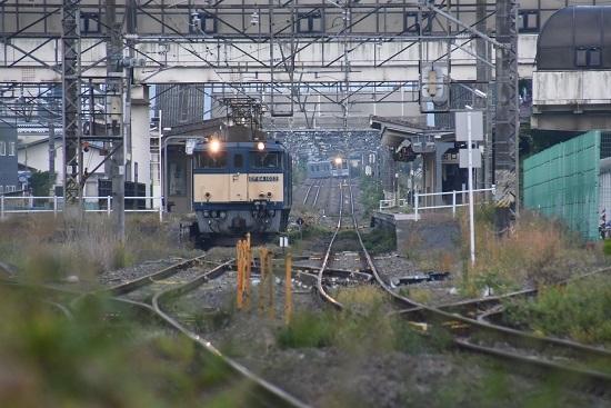 2020年10月3日撮影 篠ノ井線8467レ 明科駅にて1221M E127系