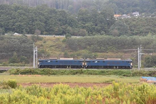 2020年10月3日撮影 篠ノ井線8467レ 坂北にてサイド狙い