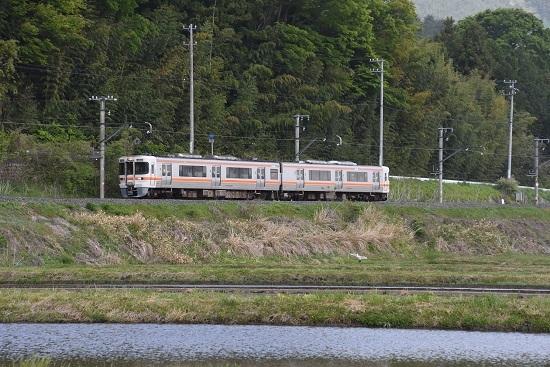 2021年5月9日撮影 飯田線は回送 313系 川サギと