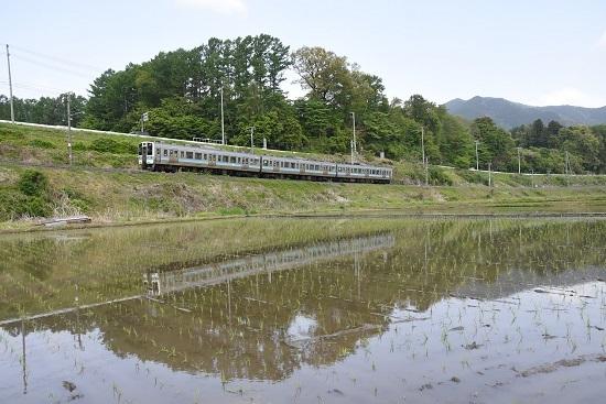 2021年5月9日撮影 飯田線は210M 211系 水鏡