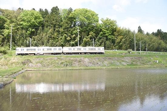 2021年5月9日撮影 飯田線は1415M 313系 水鏡