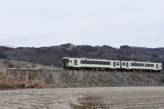2021年3月7日撮影 飯山線 122D キハ110 2両編成