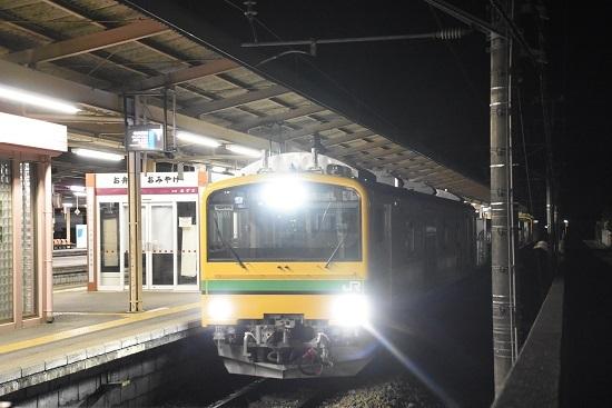 2021年5月15日撮影 塩尻駅にてGVーE197系 入線