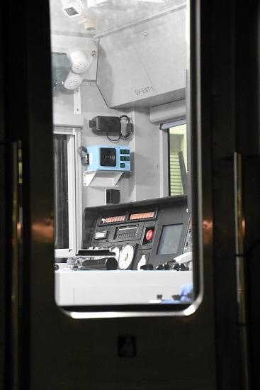2021年5月15日撮影 塩尻駅にてGVーE197-1の運転席