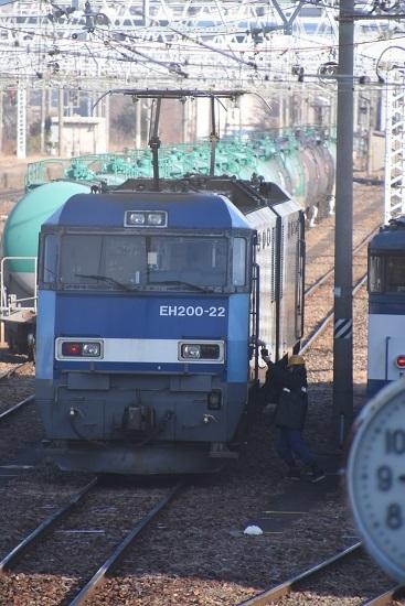 2020年12月27日撮影 南松本にて東線貨物2080レ EH200-22号機