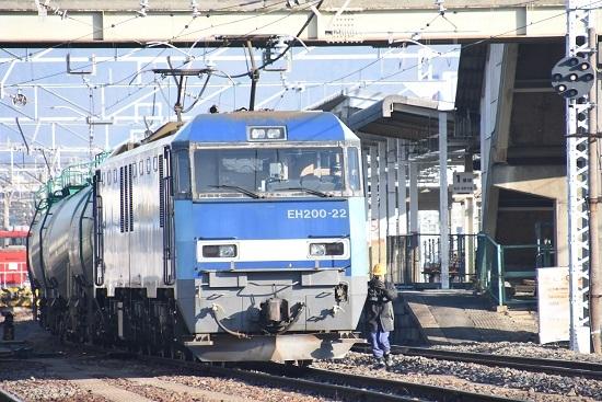2020年12月27日撮影 南松本にて東線貨物2080レ 無線機返却