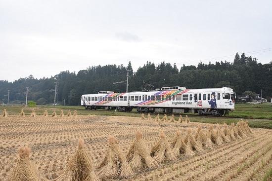 2020年10月4日撮影 アルピコ交通3000系 渕東駅 なぎさTRAIN