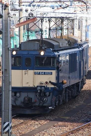 2020年12月29日撮影 南松本にて 西線貨物8084レ 機回し 無線機