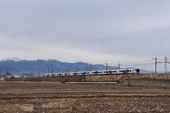 2020年12月29日撮影 中央東線 みどり湖にて E257系「あずさ87号」 返却回送