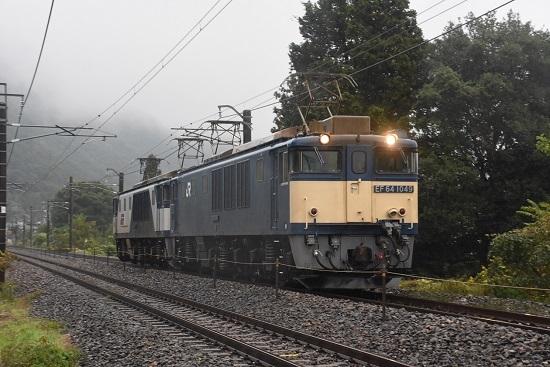 2020年10月17日撮影 篠ノ井線8467レ 田沢→明科