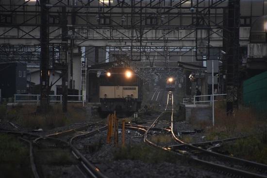 2020年10月17日撮影 篠ノ井線8467レ 明科駅にて退避
