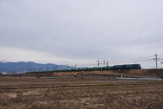 2020年12月29日撮影 東線貨物2084レ EH200-2号機 緑タキ16両