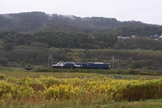 2020年10月17日撮影 篠ノ井線8467レ 坂北駅手前