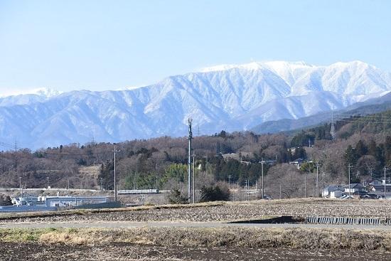 2021年3月14日撮影 飯田線 210M 211系 中央アルプス