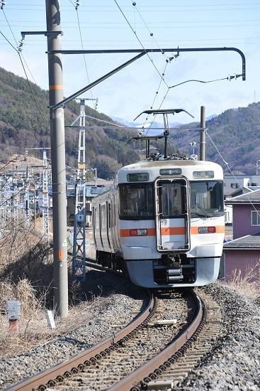 2021年3月14日撮影 飯田線 1510M 313系 後撃ち
