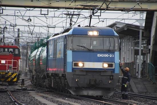 2020年12月30日撮影 東線貨物2080レ機回し 無線機返却