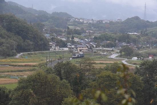 2020年10月17日撮影 篠ノ井線8467レ 坂北カーブを後撃ち その2