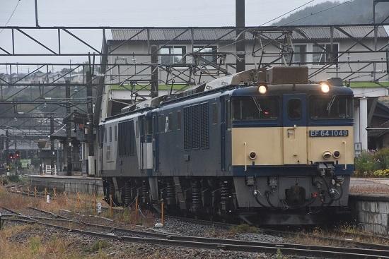 2020年10月17日撮影 篠ノ井線8467レ 聖高原駅にて