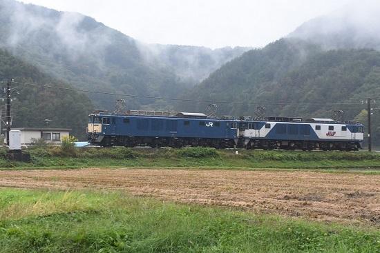 2020年10月17日撮影 篠ノ井線8467レ 聖高原裏ストレート