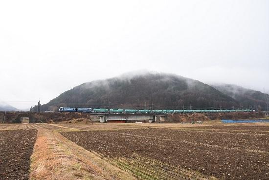 2020年12月30日撮影 東線貨物2080レ EH200-23号機 緑タキ17両