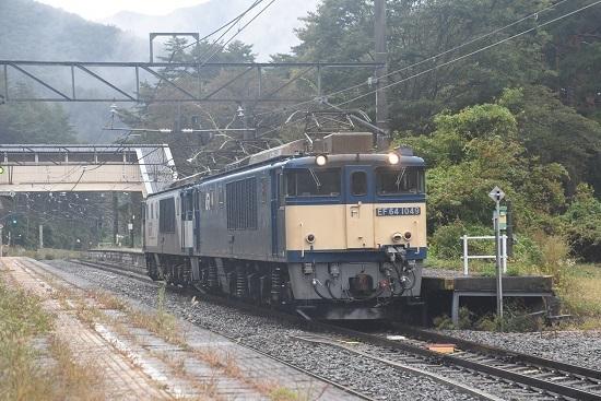 2020年10月17日撮影 篠ノ井線8467レ 冠着駅