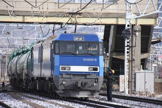 2020年12月31日撮影 東線貨物2080レ EH200-6号機 無線機返却