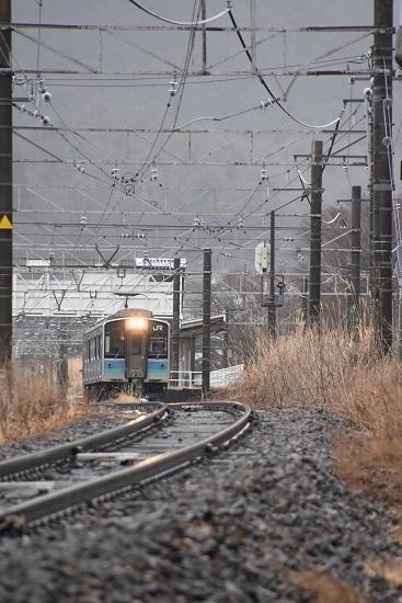 2021年3月21日撮影 辰野線は156M E127系 小野駅