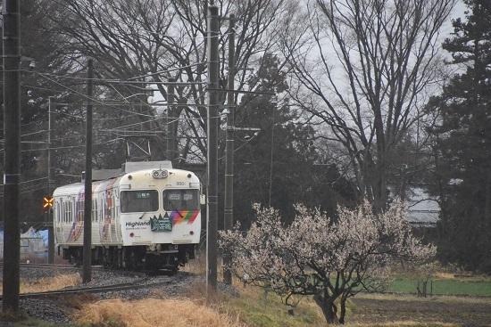2021年3月21日撮影 アルピコ交通 3000系 松本山雅 後撃ち