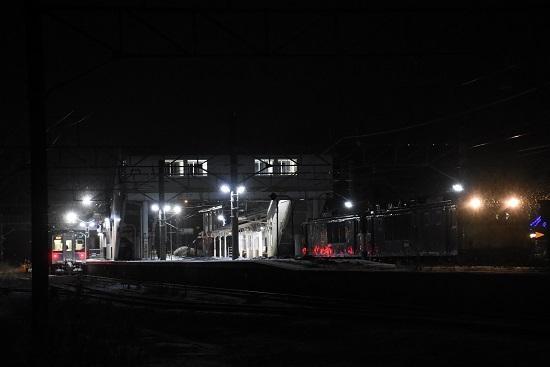 2021年1月1日撮影 9471レ EF64重連 聖高原駅停車