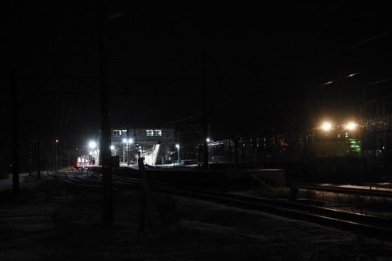 2021年1月1日撮影 9471レ EF64重連 聖高原駅発車