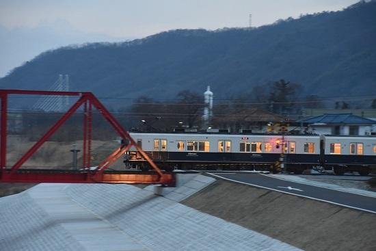 2021年3月28日撮影 上田電鉄別所線全線開通 1000系上り回送