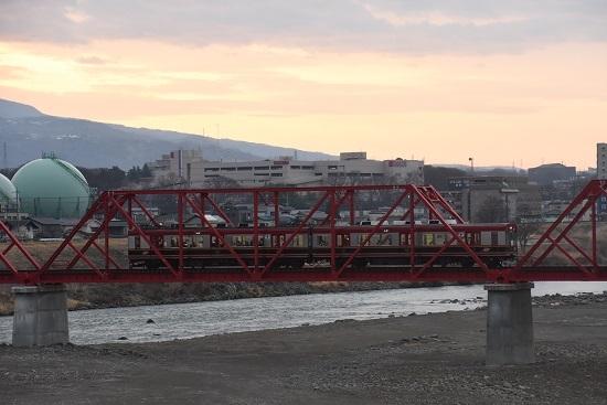 2021年3月28日撮影 上田電鉄別所線全線開通 上り始発 6000系 さなだどりーむ号 その3