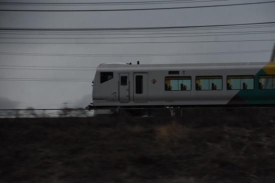2021年1月2日撮影 9082M E257系 「あずさ82号」流し撮り