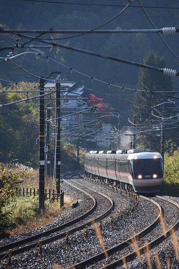 2020年10月31日撮影 中央西線 1001M 383系 WVしなの1号
