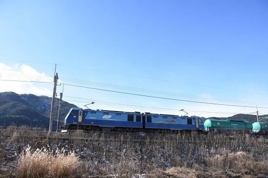 2021年1月9日撮影 東線貨物2080レ EH200-19号機のサイド