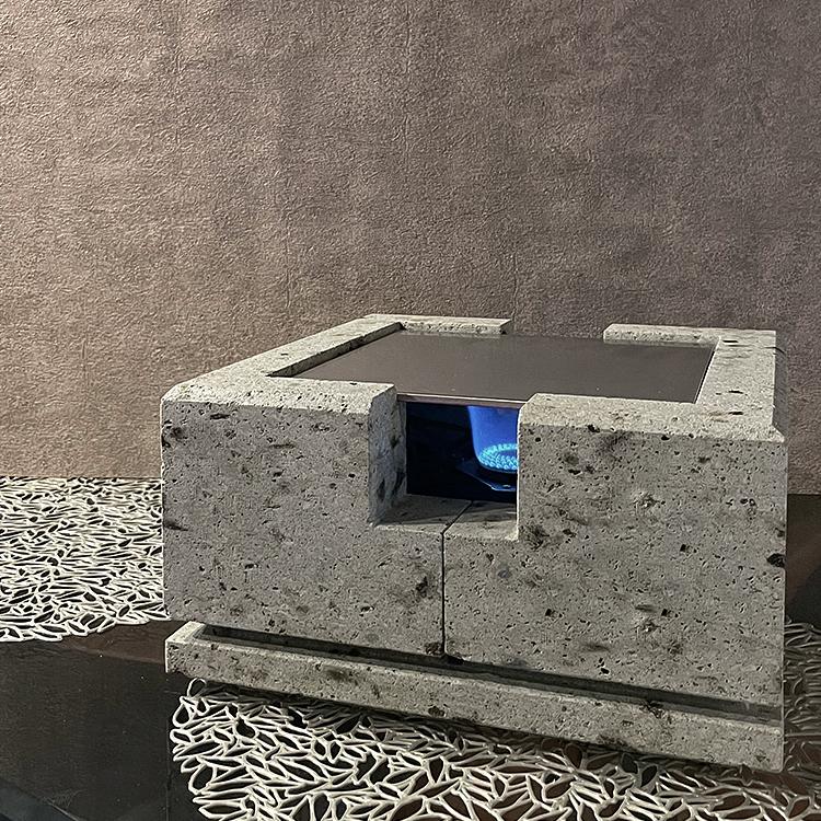 大谷石製本格鉄板グリルSOU