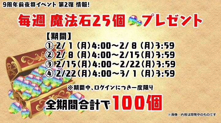 パズドラ 1/29 公式放送 速報 最新情報