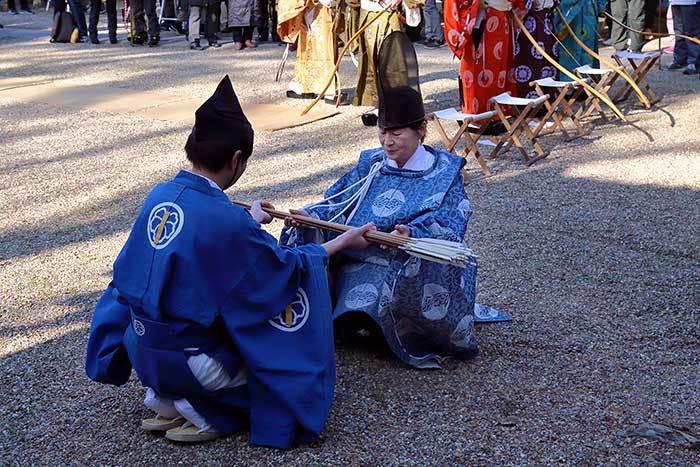 大和神社 御弓始祭9